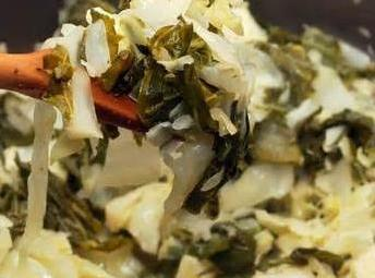 Collards And Cabbage (awesome) Recipe