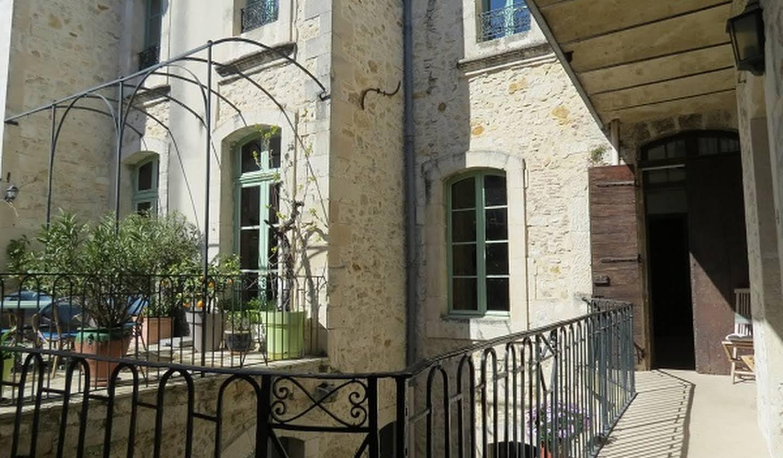 Hôtel particulier avec salle de réception Ardèche