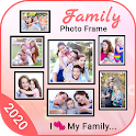 Family Photo Frame 2020 icon