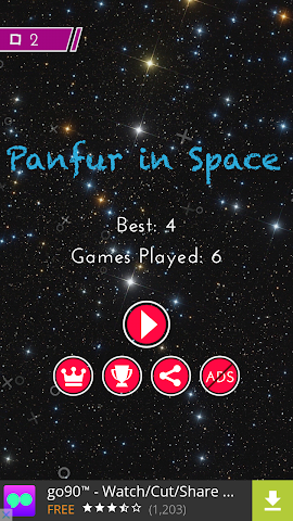 android Panfur in Space 2.0 Screenshot 4
