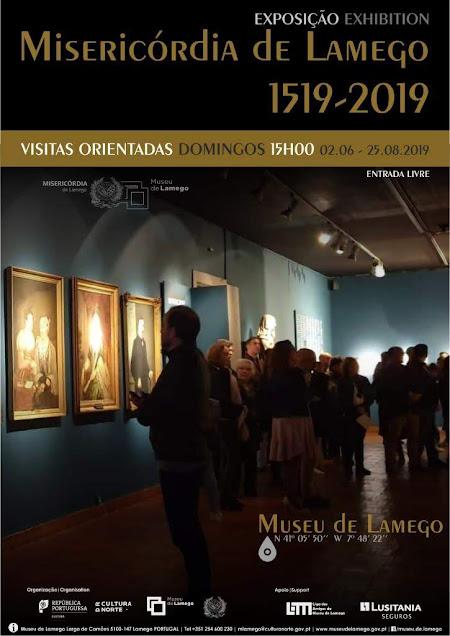 "Visitas orientadas à ""Misericórdia de Lamego 1519-2019"""