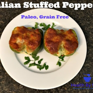 Italian Stuffed Peppers - Paleo, Grain Free