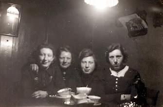 Photo: v.l.n.r. Ida Jansen, Rikie Sloots, Aaltje Gortmaker en Geertje Hilbrands