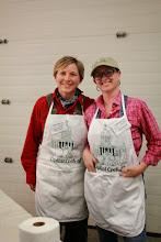 Photo: VT Agency of Agriculture Capital Cook-Off Team members Maria Steyaart (left) & Lauren Masseria,