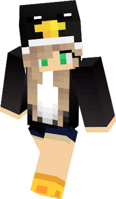This is my penguin Hoodie Girl! I hope you like! <3