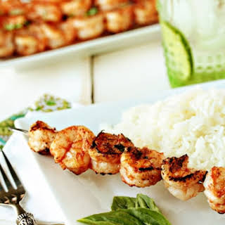 Marinated Grilled Shrimp.