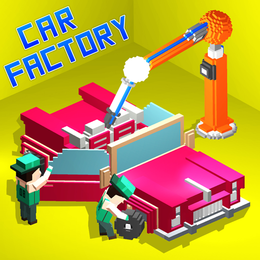 Car Factory : Workshop Mechanic Car Builder Games