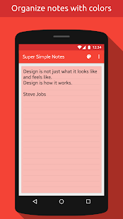 Notes (Super Simple Notes)- screenshot thumbnail