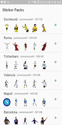 JuniorsocceR Sticker Whatsapp APK screenshot thumbnail 2