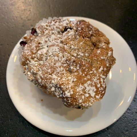 Hungry Gnome Blueberry Crumb Muffin