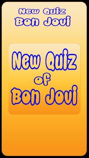 New Quiz Bon Jovi Lyric
