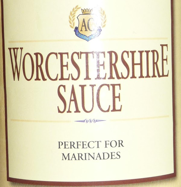Do not drain beef.  Add worcestershire sauce.