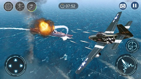Skyward War - Mobile Thunder Aircraft Battle Games Screenshot