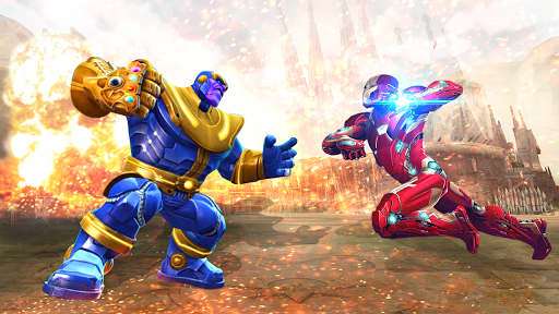 Mafia Thanos Vs Avengers Superhero Infinity Fight 1.0.1 screenshots 9