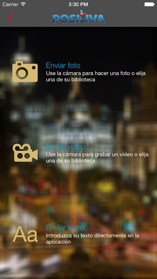 Radio Positiva- screenshot