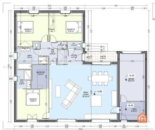 Vente villa 4 pièces 123 m2