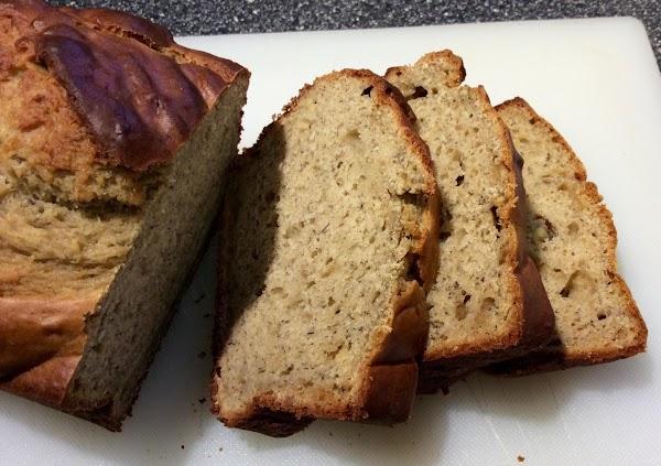 Banana Peanut Butter Bread Recipe