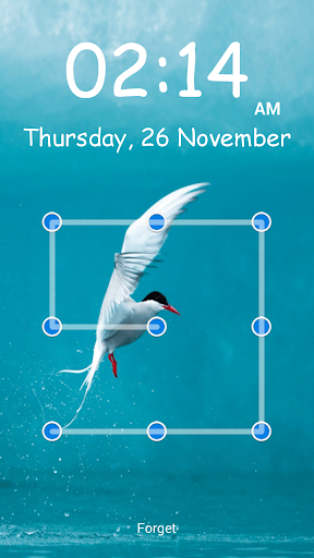 無料工具Appのきれいな鳥パターンのロック|記事Game