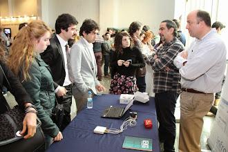 Photo: Avuç içi EKG cihazı katılımcılardan büyük ilgi gördü... www.gelecekgunu.org