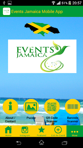 Events Jamaica Mobile App