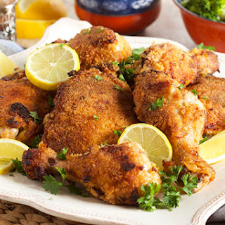 Truly Crispy Oven Fried Chicken.