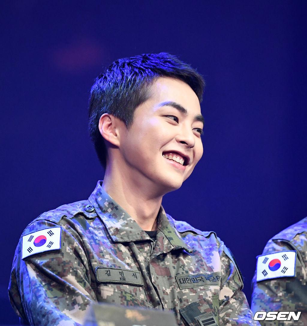 exo xiumin 2019 army 3