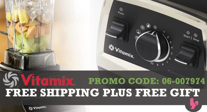 Vitamix Promo Code PLUS Free Gift by @BlenderBabes