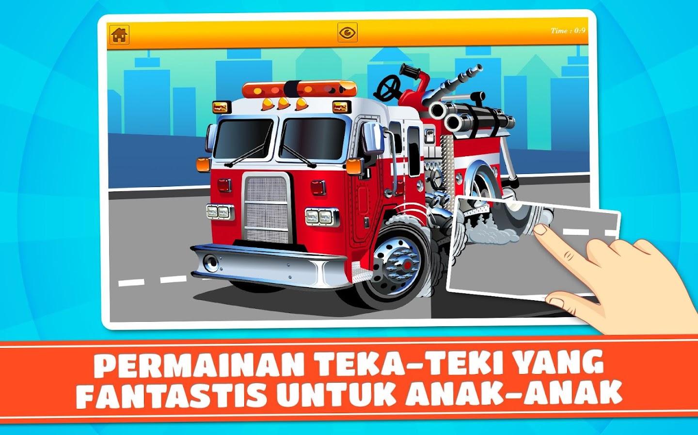 Truk Pemadam Kebakaran Puzzle Apl Android Di Google Play