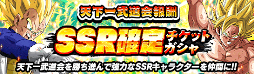 SSR確定チケットガチャ