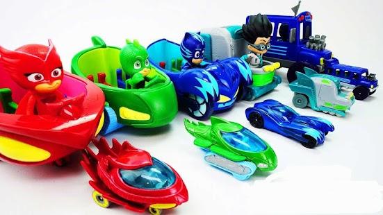 PJ Toy Masks Adventure - náhled