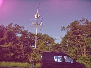 Photo: K8GP / Rover - FN10CA (looking W) under moonlight