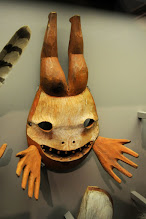 Photo: Contemporary native art at University of Alaska Museum of the North, Fairbanks
