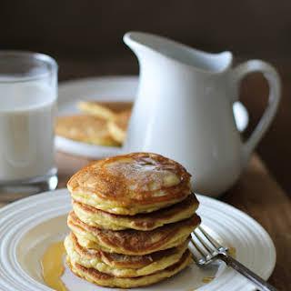 Basic Fluffy Coconut Flour Pancakes.