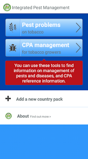 Tobacco IPM Toolbox - náhled