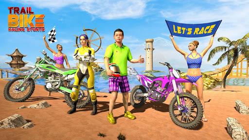 Trial Bike Racing Stunts : New Stunt Bike Games 3.9 screenshots 6