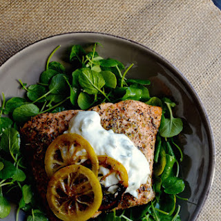 10-Minute Broiled Herb Salmon