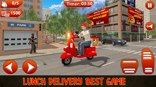Offroad MotorBike Lunch Delivery:Virtual Game 2020 1.7 screenshots 1