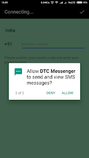DTC Messenger - náhled