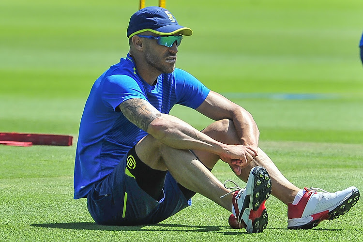 Faf du Plessis is desperately looking for much needed runs to boost his confidence. He has come under heavy criticism from the media due to the team's poor results.