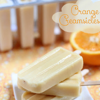 Orange Creamsicle Pops