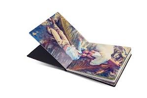 opengevouwen album