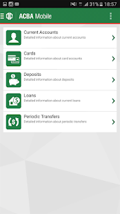 ACBA Mobile - náhled