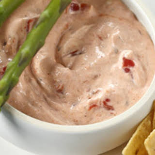 Philadelphia Creamy Salsa Dip.