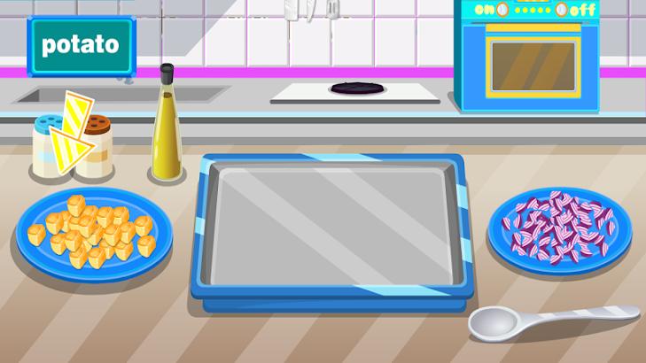 Cooking rice Games for Girls screenshot