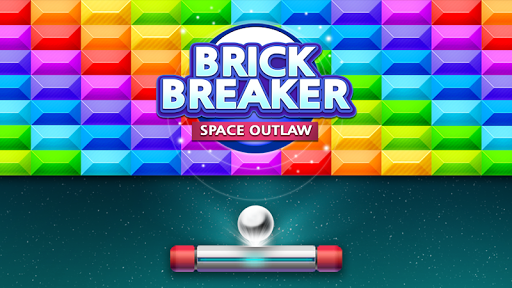 Brick Breaker : Space Outlaw apkpoly screenshots 1