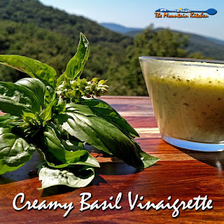 Creamy Basil Vinaigrette
