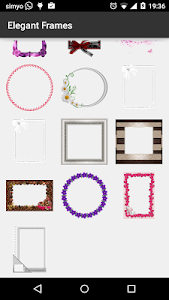 Elegant photo Frames screenshot 4