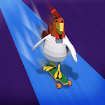 chicken Road cross surfer icon