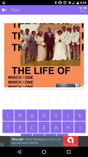 Guess The Font - A Fun Game! screenshot