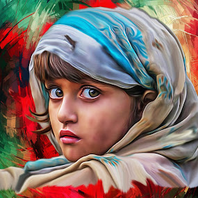 Hope by Kamran Khan - Digital Art People ( swat photography, kami.pk photography, digital manipulation, digital art, digital painting, kamran khan, eyes, hope )